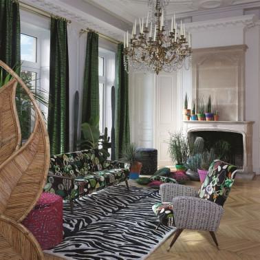 Papel Pintado Flowers & Parrots de Eijffinger