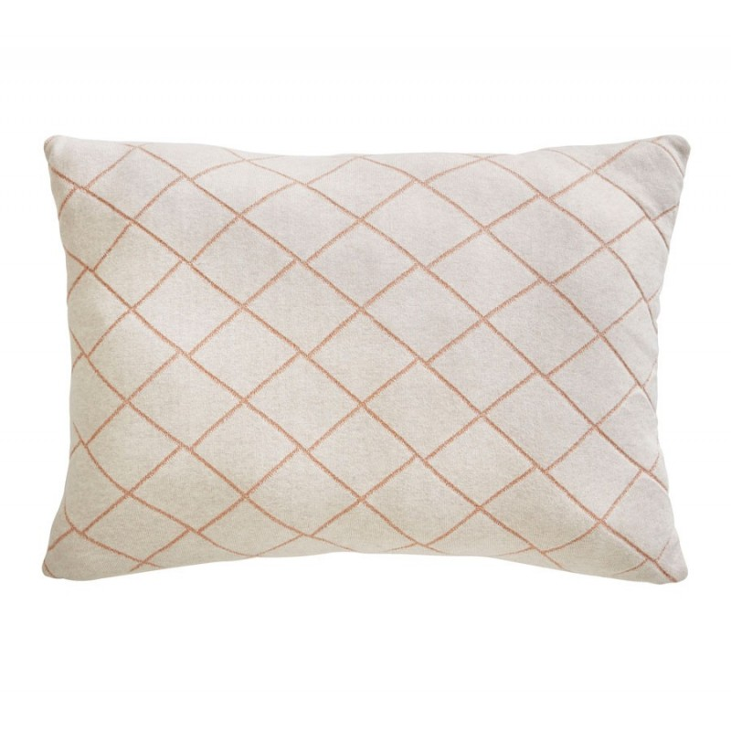 Cojines Diamond Knit Cushion de la marca Tess Daly de estilo Cuadros