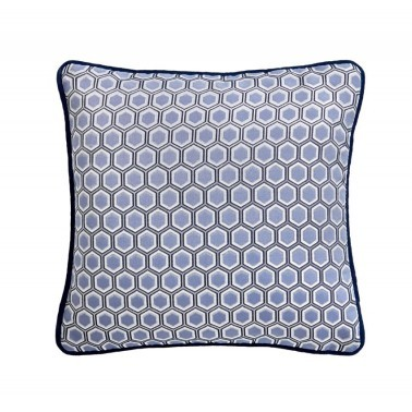Cojines Hexagon Square Cushion de la marca Tess Daly de estilo Geométrico
