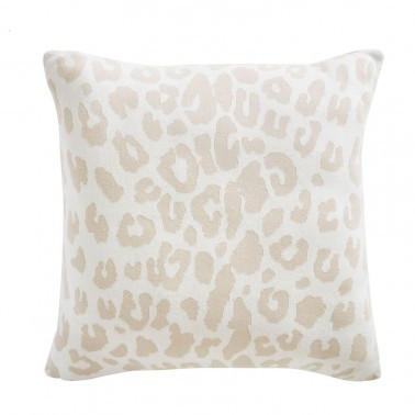 Cojines Leopard Knit Cushion de la marca Tess Daly de estilo Animales
