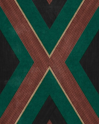 Papel Pintado Masai de la marca ICH de estilo Geométrico y Étnico