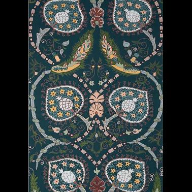 Papel Pintado con estilo Flores modelo ODHNI de la marca Designers Guild