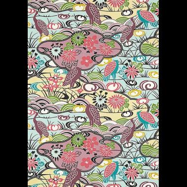 Mural con estilo Rayas modelo UKIYOE de la marca Designers Guild