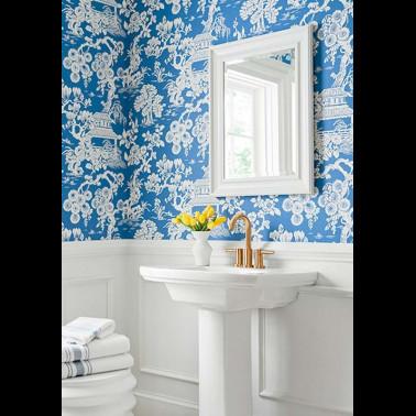 Papel Pintado con estilo Botánico modelo EMILIE de la marca Designers Guild