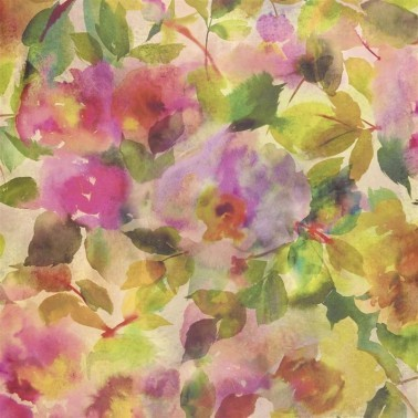 Papel Pintado con estilo Flores modelo SURIMONO de la marca Designers Guild
