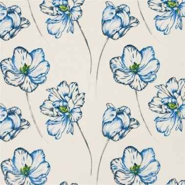 Tela para Cortinas y Cojínes con estilo Flores modelo MONTSUKI