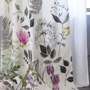 Tela para Cortinas con estilo Flores modelo MOKUREN