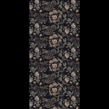 Tela para Tapizar y Cortinas con estilo Flores modelo ORCHIDEA