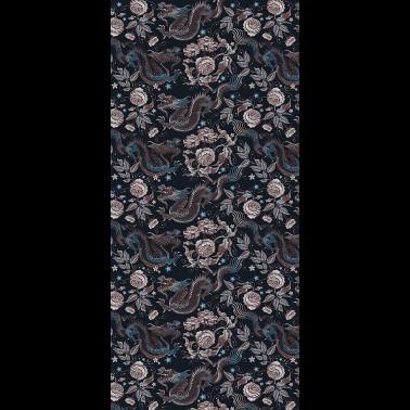 Tela para Tapicería con estilo Flores modelo PAVOT