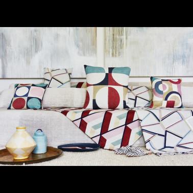 Mural con estilo Geometrico modelo GEO MODERNE de la marca Designers Guild