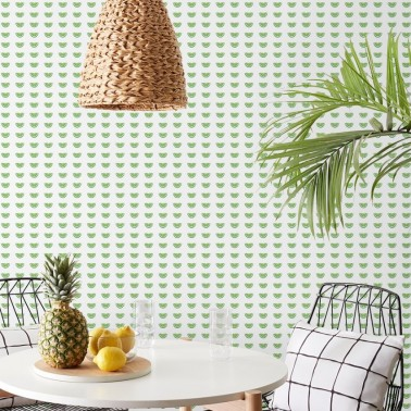Papel Pintado con estilo Geometrico modelo Citrus Party de la marca York Wallcoverings