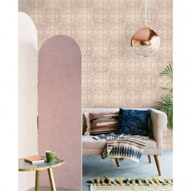 Mural con estilo Flores modelo Tiles Mood Mural de la marca Eijffinger