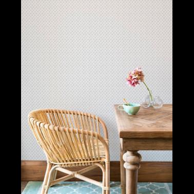 Papel Pintado con estilo Damascos modelo Swirling Leaves de la marca Eijffinger
