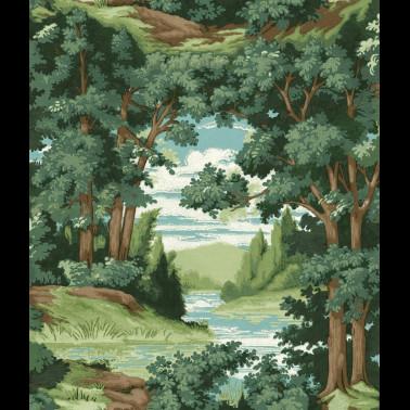Mural con estilo Flores modelo TRAILING ROSE de la marca Designers Guild