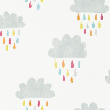 Papel Pintado con estilo Infantil modelo April Showers de la marca Scion