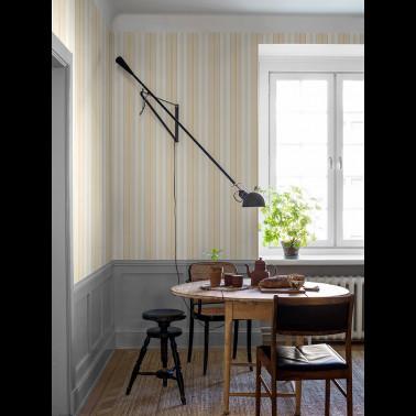 Tela para Cortinas con estilo Flores modelo OCTAVIA