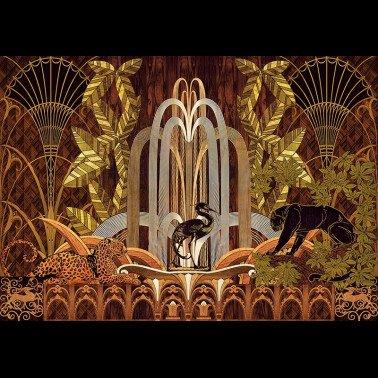 Tela para Cortinas y Cojínes con estilo Damascos modelo HOLYROOD
