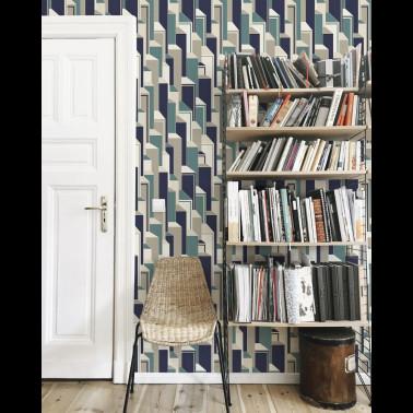 Papel Pintado con estilo Flores modelo OCTAVIA de la marca Designers Guild
