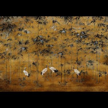 Mural con estilo Botánico modelo MIYAKO SCENE 1 de la marca Designers Guild