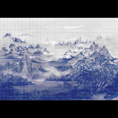 Mural con estilo Flores modelo YULAN de la marca Designers Guild