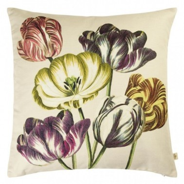 VARIEGATED TULIPS Cojines