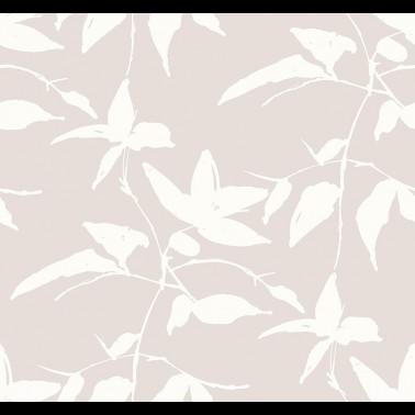Papel Pintado con estilo Botánico modelo Leaf and Vine Wallpaper de la marca York Wallcoverings