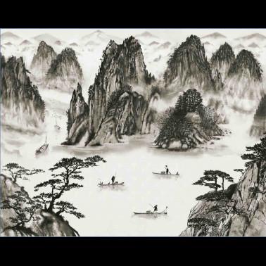Mural con estilo Flores modelo Embroidery Flora de la marca Coordonné