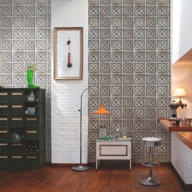 Mural con estilo Botánico modelo Palms de la marca Coordonné