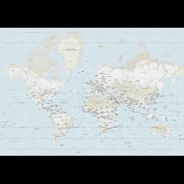 Mural con estilo Botánico modelo Paisaje con Flamencos de la marca Coordonné