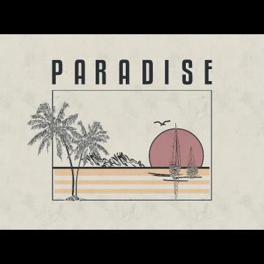 Mural con estilo Geometrico modelo Repetita Iuvant de la marca Coordonné