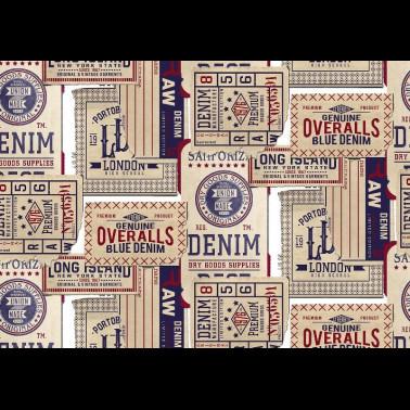 Mural con estilo Moderno modelo Rue Babylone de la marca Coordonné