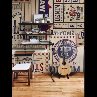 Mural con estilo Infantil modelo Sabor mediterráneo de la marca Coordonné