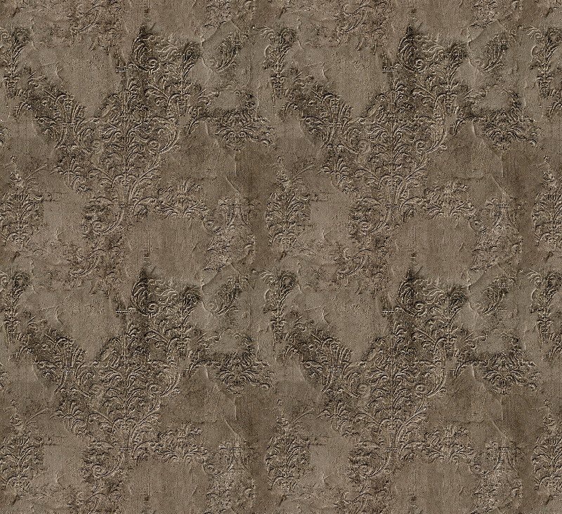 Mural con estilo Damascos modelo Brocade broken wall de la marca Coordonné
