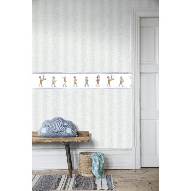 Papel Pintado con estilo Infantil modelo Båtlek de la marca Borastapeter