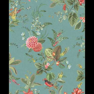 Papel Pintado con estilo Tropical modelo Frontier de la marca Emma J Shipley