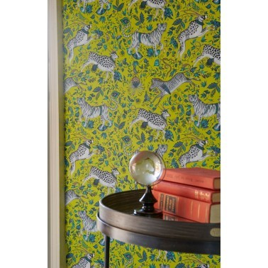 Papel Pintado con estilo Tropical modelo Protea de la marca Emma J Shipley