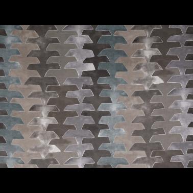 Mural con estilo Tropical modelo Botanica Circle de la marca Casadeco