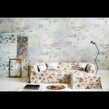 Papel Pintado con estilo Geometrico modelo TIZNIT de la marca Casamance