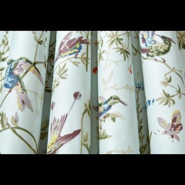 Tela para Tapizar y Cortinas con estilo Flores modelo RUGOSA