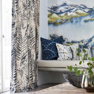 Tela para Tapizar y Cortinas con estilo Flores modelo RED TULIPS