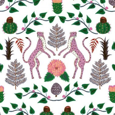 Papel Pintado con estilo Animales modelo Cheetahs de la marca Coordonné
