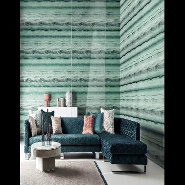 Papel Pintado con estilo Botánico modelo Micro Cosmos de la marca Coordonné