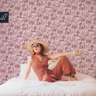 Papel Pintado con estilo Animales modelo Tipsy love de la marca Coordonné