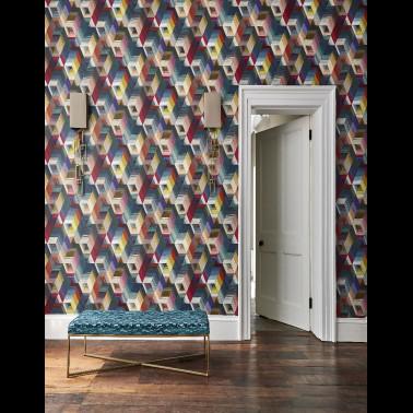 Mural con estilo Tropical modelo Carmen de la marca Coordonné
