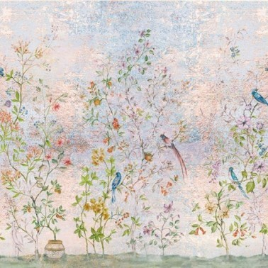 Mural con estilo Tropical modelo Tea Garden de la marca Coordonné