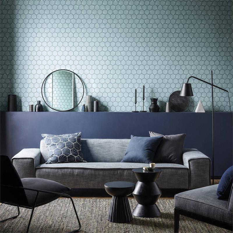 Mural con estilo Geometrico modelo Color Study de la marca Coordonné