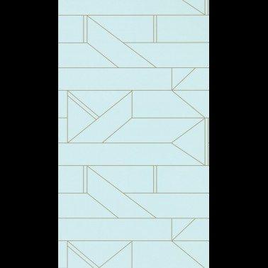 Mural con estilo Geometrico modelo La maqueta de la marca Coordonné