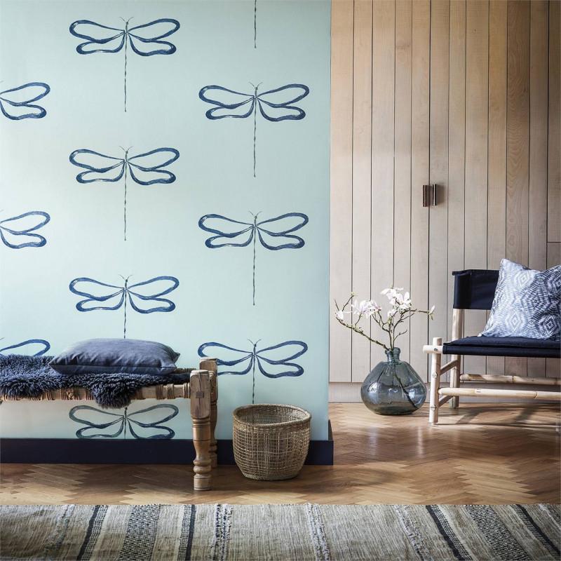 Mural con estilo Geometrico modelo Ratán de la marca Coordonné