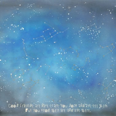 Mural con estilo Infantil modelo Contando Estrellas de la marca Coordonné
