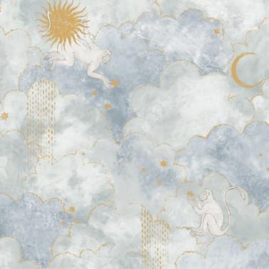 Mural con estilo Infantil modelo Nuestro Mundo de la marca Coordonné